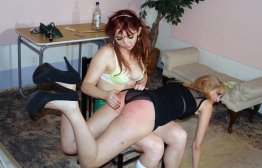 Spanking Veronica Works: Episode 137: Acting Coach Spanking