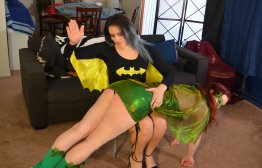 Spanking Veronica Works: Episode 178: Batwoman and Ivy Spank Each Other