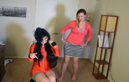Spanking Veronica Works: Episode 176: Circus Trainer Spanks Student