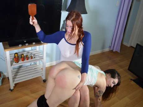Spanking Veronica Works: Episode 175: Trumpet Lesson Spanking