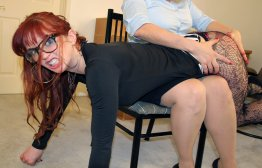 Spanking Veronica Works: Episode 138: Veronica Spanked in the Office